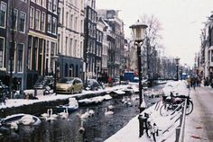Amsterdamn in winter