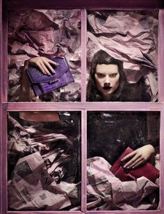 Vogue Italia March 2013 Model: Querelle Jansen Photographer: David Dunan Fashion Editor: Sara Maino Hair: Angelo Seminara Make-up: Sharon Dowsett