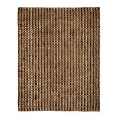 Hand-woven jute rug.  Product: RugConstruction Material: JuteColor: BrownFeatures: Ha...
