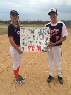 Baseball promposal - Neue Ideen - New Ideas