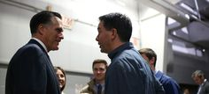 Mitt Romney and Scott Walker. (photo: Getty Images)