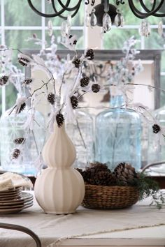 DIY Snowy Branches MichaelsMakers Craftberrybush