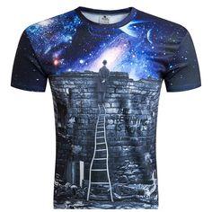 2016 Estilo Británico Hombres de la camiseta de Verano Para Hombre de La  Moda 3D Impreso juguetes Informal Camiseta de Manga Corta O-cuello de la  Camiseta ... 6220591a8afd8