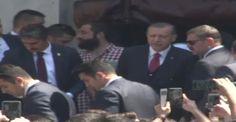 Erdoğan cuma namazını Bezmialem Valide Sultan Camii'nde kıldı