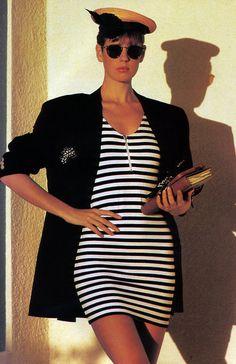 http://periodicult.tumblr.com  gilles-bensimon-for-elle-magazine-june-1988