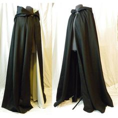 Lady's OR Gentleman's Traveling Cape Cloak, FULLY LINED - Made to... (1,045 AED) ❤ liked on Polyvore featuring cloaks, medieval, accessories, costume, renaissance halloween costumes, party costumes, ladies costumes, ladies halloween costumes and ladies renaissance costumes