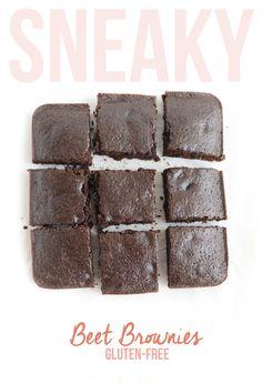 Sneaky Beet Brownies - Fit Foodie Finds
