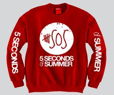 "5 Second Of Summer ""3 Prints"" Unisex Crewneck"