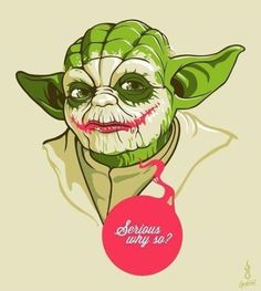 Find images and videos about funny, batman and star wars on We Heart It - the app to get lost in what you love. Joker Face, Hunger Games Catching Fire, Why So Serious, Joker And Harley, Harley Quinn, Joker Batman, Batman Stuff, Geek Out, Cultura Pop