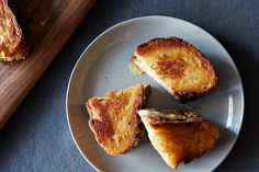 Parmesan Crusted Toast