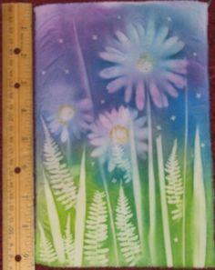 floral sun printing