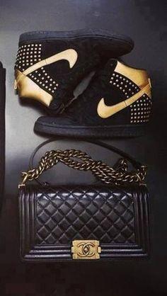shoes gold black gold nike airs airmax air max classy nike nike air nike sneakers