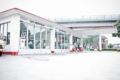 Oldtimer Tankstelle Hamburg | pixelpiraten.net