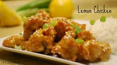 Lemon chicken recipe Chinese style - easy step by step video
