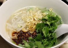 Super easy recipe for ka'piek! A Laotian dish (rice noodle soup). Just tried this and it's super easy! <3 <3 <3