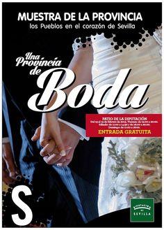 Cartel una provincia de Boda