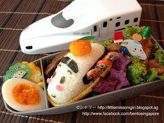 Shinkansen Kyaraben and Ekiben, this is adorable.