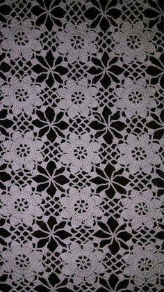 Photo of Dowry Heavy Lace Salon Set Models Crochet Stitches Chart, Crochet Doily Diagram, Crochet Flower Tutorial, Crochet Flower Patterns, Crochet Art, Crochet Squares, Crochet Home, Irish Crochet, Crochet Motif