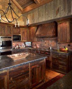Metal Countertop/Wood Idea for Kitchen