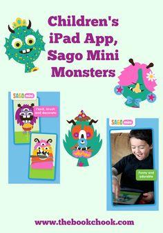 The Book Chook: Children's iPad App, Sago Mini Monsters