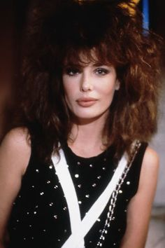 """Kelly LeBrock in """"Weird Science"""" 1985....the only one in the 80's with lips as big as me:)"""