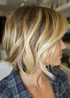 hair styles for short hair- love the color!