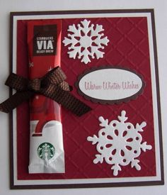 Christmas Blend... what a cool idea!