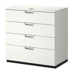 IKEA - GALANT, Caisson à tiroirs, blanc, , Garantie 10 ans gratuite. Renseignements complets dans notre livret de garantie.Fermeture à combinaison : vous choisissez votre propre code pour ranger en toute sécurité vos documents et accessoires de bureau.Tiroir muni d'un amortisseur qui assure une fermeture tout en douceur et sans bruit.L'élément complémentaire permet d'utiliser l'espace au mur et de libérer le sol.Grâce à sa finition soignée à l'arrière, cet élément se…