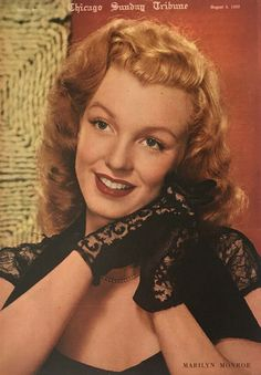 the anonymous photographer took this portrait a few years earlier. Hollywood Actor, Classic Hollywood, Old Hollywood, Marilyn Moroe, Marilyn Monroe Fotos, Norma Jeane, Iconic Women, Good Looking Men, Photos Du