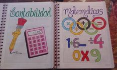 Notebook Art, Notebook Covers, Filofax, School Notebooks, Decorate Notebook, Kids Corner, School Hacks, School Supplies, Diy For Kids