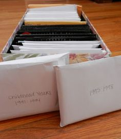 Organizing printed pictures!!! Yay, get lots of requests for this!