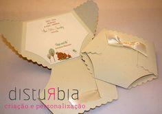 Convite Chá de fralda