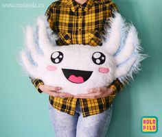 White HAPPYLOTL exclusive design by MOLA PILA
