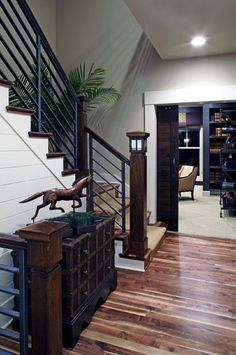 Modern Farmhouse traditional staircase
