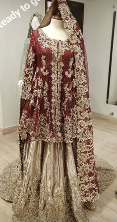 For orders/queries email at clothing.dahlia or message on fb/insta Made to… For orders/queries email at clothing.dahlia or message on fb/insta Made to measure dresses Asian Bridal Dresses, Bridal Mehndi Dresses, Pakistani Formal Dresses, Shadi Dresses, Bridal Dress Design, Wedding Dresses For Girls, Pakistani Dress Design, Bridal Outfits, Bridal Lehenga