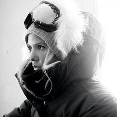 Silje Norendal, boarding style