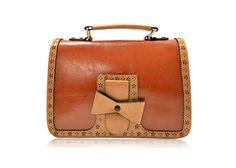 Preppy Women's Crossbody Bag With Bows and Lacework Design (BROWN) | Sammydress.com