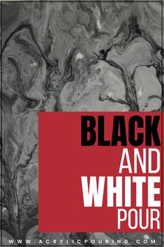 Black and white might sound really dull and boring, but once you have seen it done it really looks good. Check it out! Flow Painting, Acrylic Painting Lessons, Acrylic Paintings, Acrylic Pouring Techniques, Paint Techniques, Colours That Go Together, Business Articles, What Do You See, Grey Paint