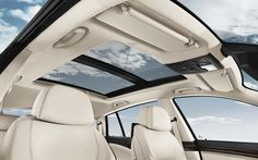 The BMW 5 Series Gran Turismo with Panoramic Moonroof