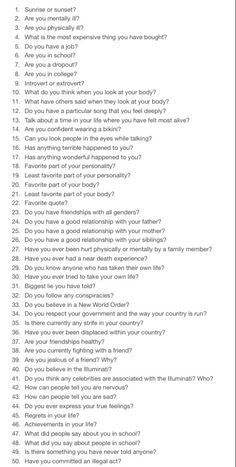 these are supremely more interesting questions ; ask away lil plants these are supremely more interesting questions ; ask away lil plants Writing Tips, Writing Prompts, Motivation, Getting To Know Someone, Journal Prompts, Journal Ideas, Deep Thoughts, Self Improvement, Self Help