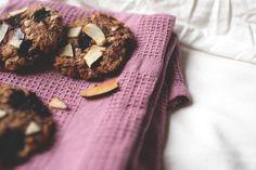 Mustikka-kookos-keksit (gluteenittomia, maidottomia ja sokerittomia)