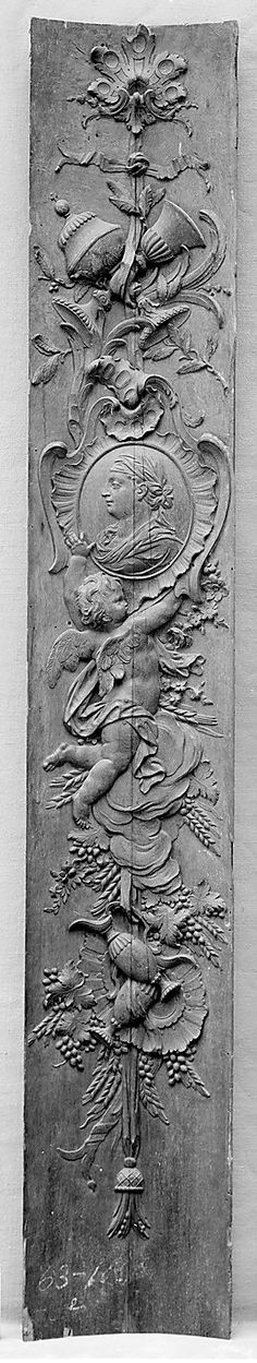Panel (one of a pair), European Sculpture and Decorative Arts Medium: Carved oak Gift of J. Pierpont Morgan, 1906 Metropolitan Museum of Art, New York, NY Architectural Salvage, Architectural Elements, French Grey, French Decor, Rustic French, Fifty Shades Of Grey, Metropolitan Museum, Architecture Details, Wood Carving
