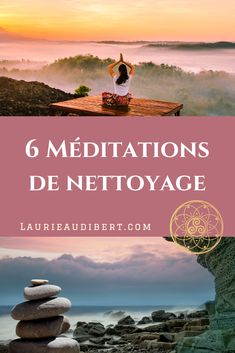 6 cleansing meditations 6 méditations de nettoyage 6 cleaning meditations to purify your energy field / Laurie Audibert / Holistic Coach & Business Witch for Spiritual Entrepreneurs Relaxation Techniques, Meditation Techniques, Qi Gong, Les Chakras, Yoga Positions, Relaxing Yoga, Meditation Music, Reiki Meditation, Yoga Music