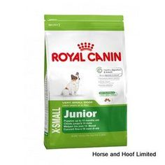 Royal Canin X-Small Junior Dog Food 1 5kg Royal Canin X-Small Junior is a complete feed for very small breed puppies that has been modified to meet common nutritional challenges.