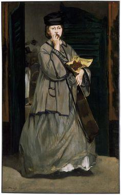 Edouard Manet   Street Singer, c. 1862   Museum of Fine Arts, Boston