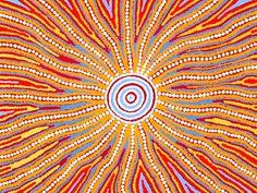 Copy Of Aboriginal Circle/Dot Art - Lessons - Tes Teach Aboriginal Dot Art, Aboriginal Painting, Aboriginal Artists, Aboriginal Dreamtime, Encaustic Painting, Art Soleil, Kunst Der Aborigines, Ethno Design, Art Premier