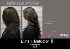 Brunette hårforlengelse hair extensions langt hår Hair Extensions, Weave Hair Extensions, Human Hair Extensions, Sew In Hairstyles