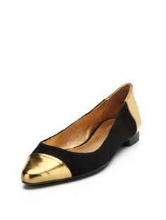 Edie Flat by kate spade new york shoes on Gilt.com    Just snagged these...