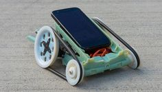 Qualcomm's 3D Printed Micro Rover using the IOIO-OTG