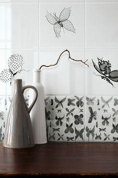 Ceramica BARDELLI | Collezione Papillon (design di Ruben Toledo)